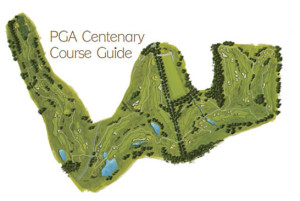 PGA Centenary Course map