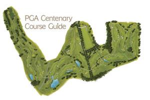 PGA Centenary Course map