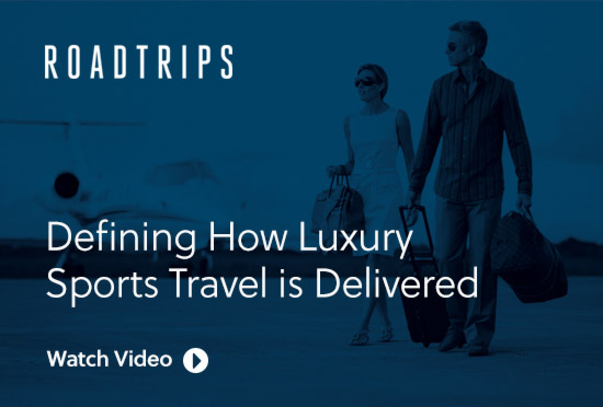 Defining how luxury sports travel is delivered - Watch video