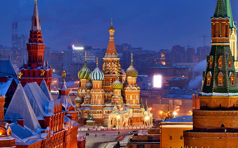 Host City Moscow