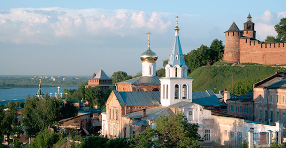 Host city Nizhny Novgorod