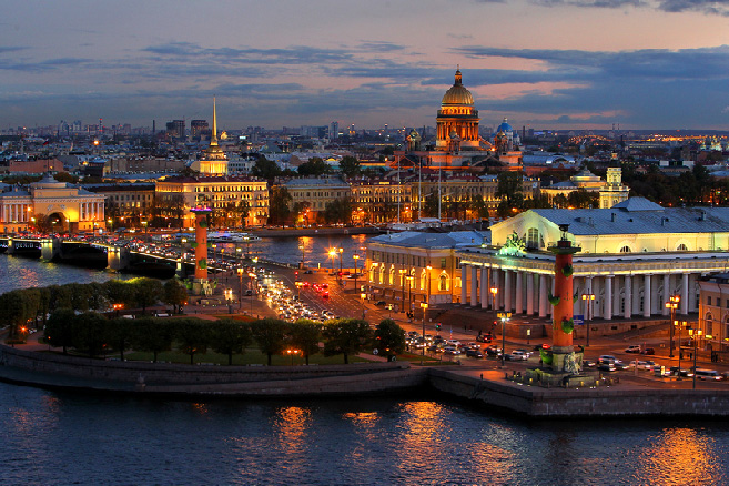 Host City Saint Petersburg