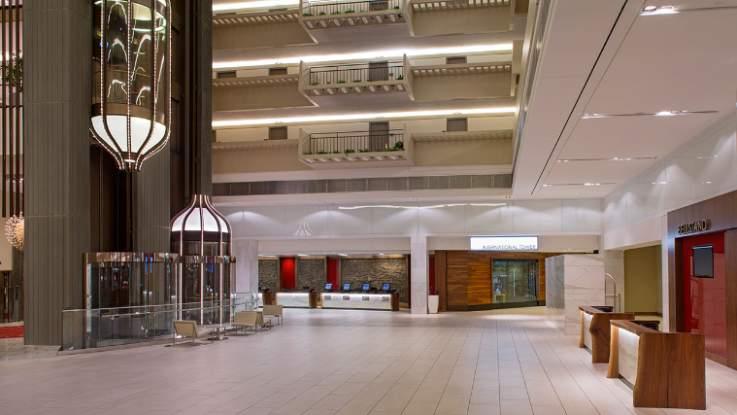 Hyatt-Regency-lobby