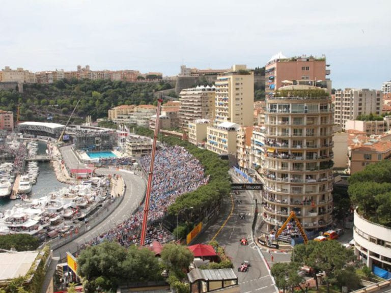 monaco course view from terrace