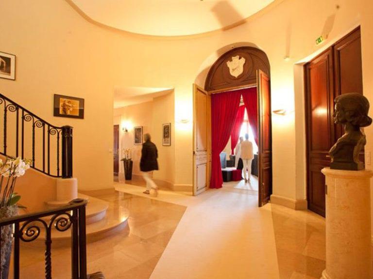 viewing interior ballroom