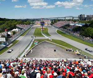 canadian grand prix race day