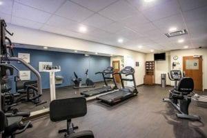 Comfort Suites Fitness Room