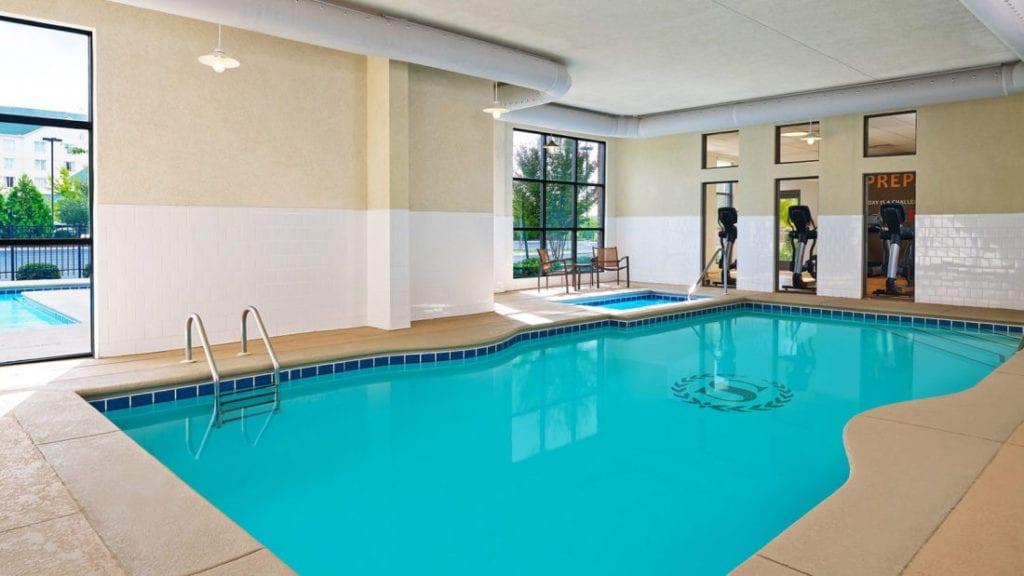sheraton augusta hotel indoor pool