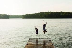 ritz carlton reynolds plantation lake jump