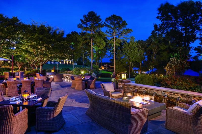 ritz carlton reynolds plantation outdoor night