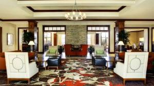 sheraton augusta hotel lobby