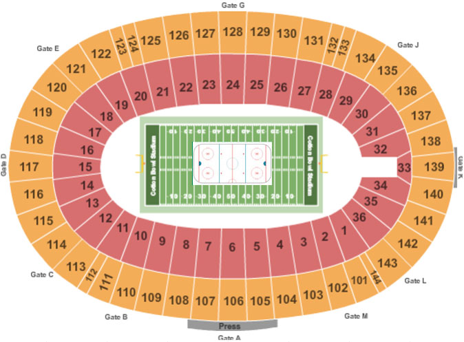 Cotton Bowl Seating Chart