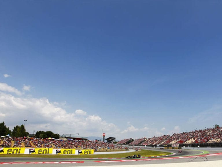 spanish grand prix view