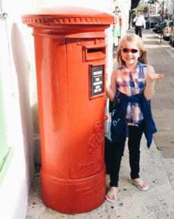 Bermuda facts postbox