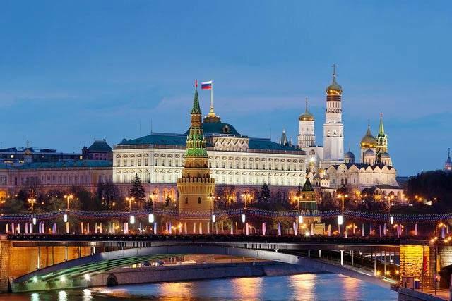 Kremlin Exterior Moscow