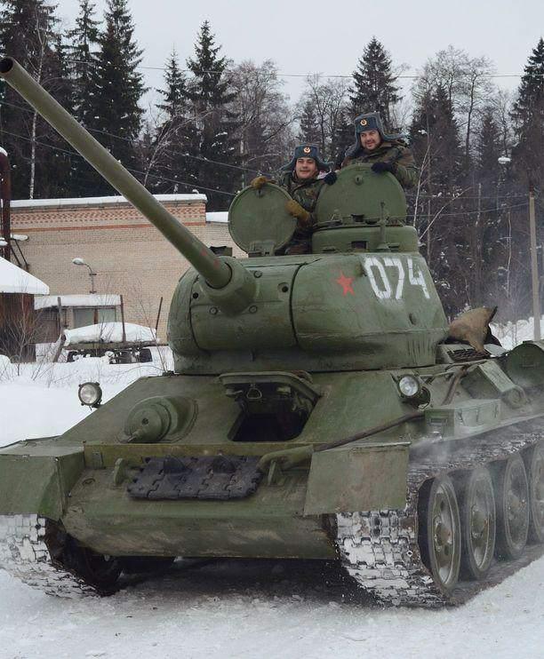 tank riding