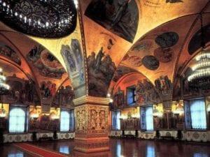 Interior Kremlin Moscow