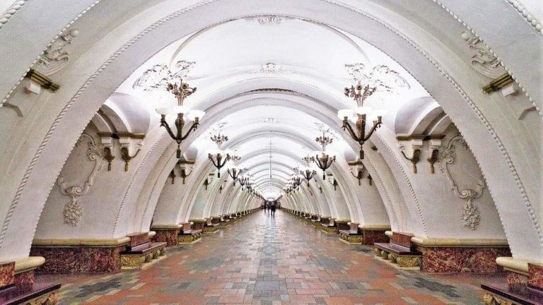 Metro Station Moscow
