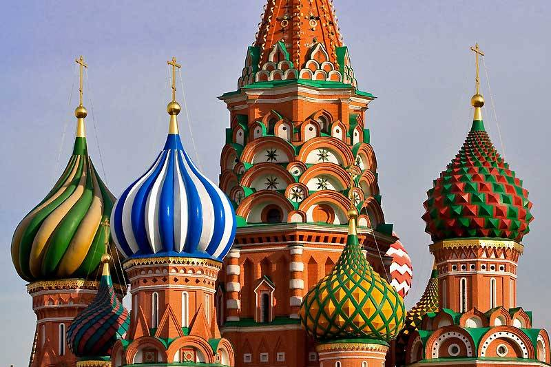 St Basils Cathedral in Red Square, Moscow 105