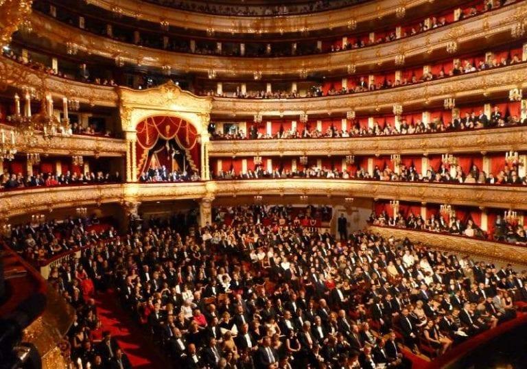 Bolshoi Theatre Interior