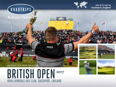2017 British Open Brochure Southport England