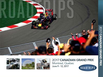 2017 Canadian Grand Prix Brochure Montreal Quebec
