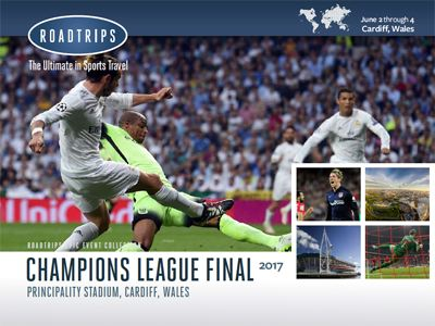2017 Champions League Final Brochure Cardiff Wales