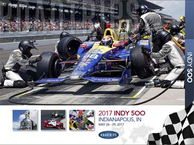 2017 Indy 500 Brochure Indianapolis Indiana