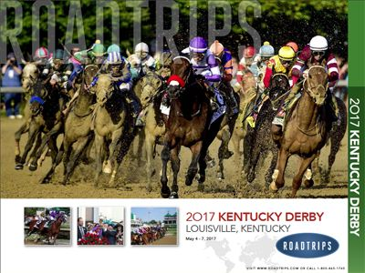 2017 Kentucky Derby Brochure Louisville Kentucky