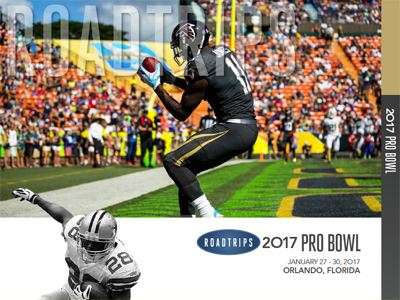2017 Pro Bowl Game Brochure Orlando Florida