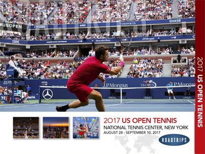 2017 US Open Tennis Brochure New York