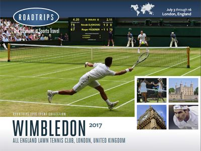 Wimbledon 2017 Brochure London UK