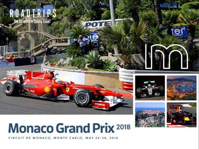 2018 Monaco Grand Prix Brochure Monte Carlo