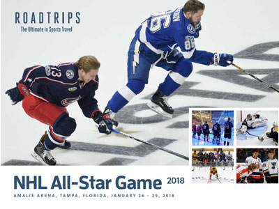 2018 NHL All-Star Game Brochure Los Angeles California