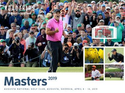 2019 Masters Brochure Augusta Georgia