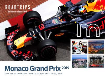 2019 Monaco Grand Prix Brochure Monte Carlo