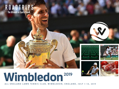 Wimbledon 2019 Brochure London UK