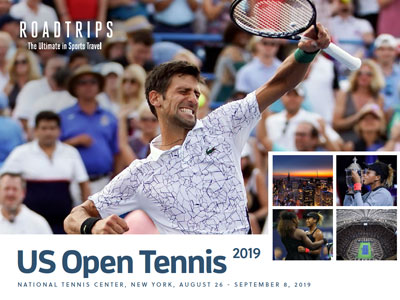 2018 US Open Tennis Brochure New York
