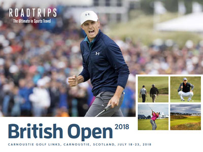 2018 British Open Brochure Carnoustie