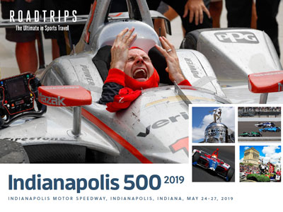 2018 Indy 500 Brochure Indianapolis Indiana