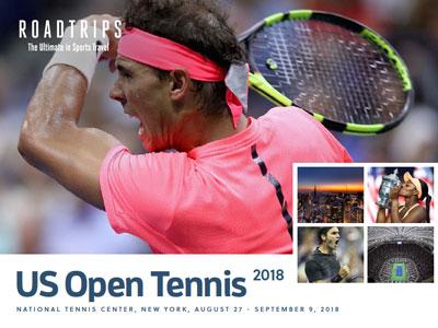 2018 US Open Tennis Brochure New York