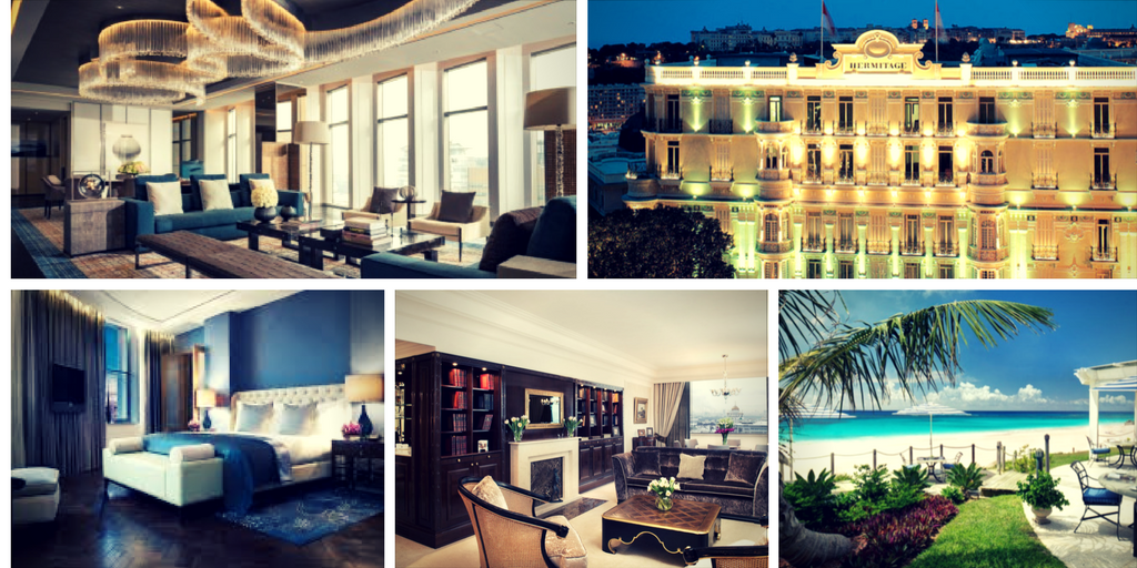 Our favorite and best luxury hotels around the world for Luxury hotels around the world