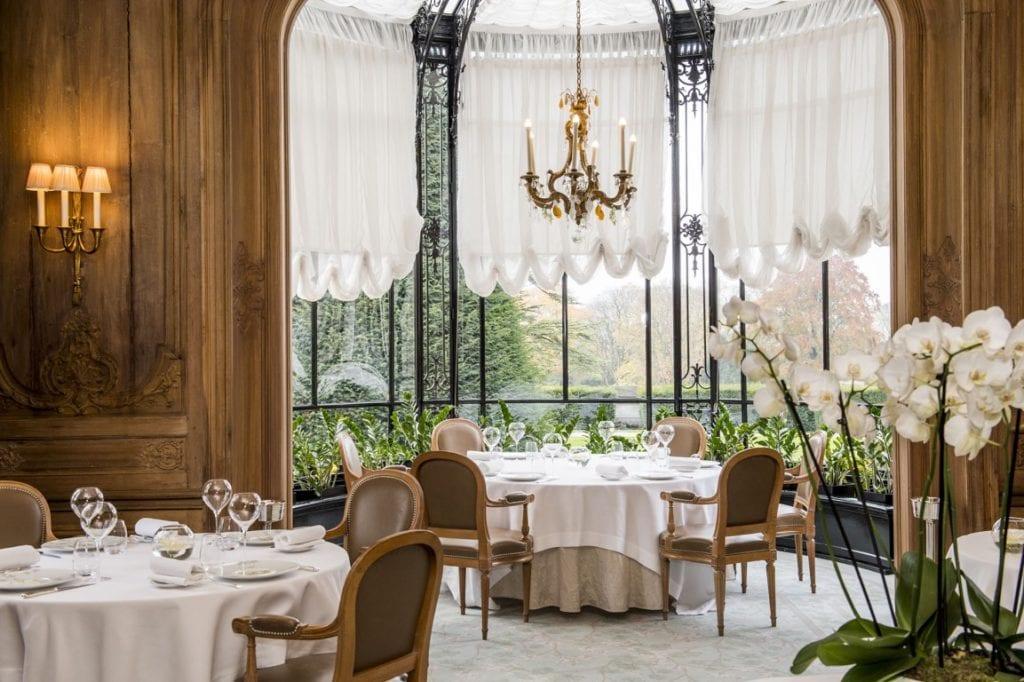 Domaine Les Crayeres tea room