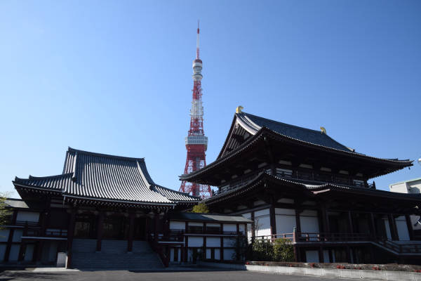 Zojoji Temple_5 Things to Do in Tokyo During the 2020 Summer Games