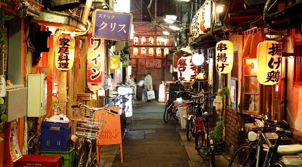 Cool restaurants and places to eat in Tokyo